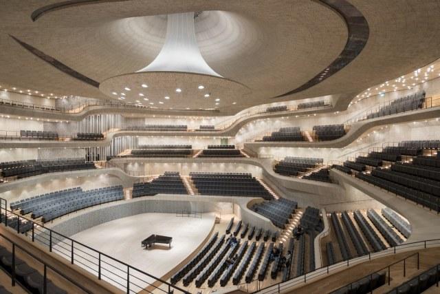 Velika sala Elbfilharmonije u Hamburgu