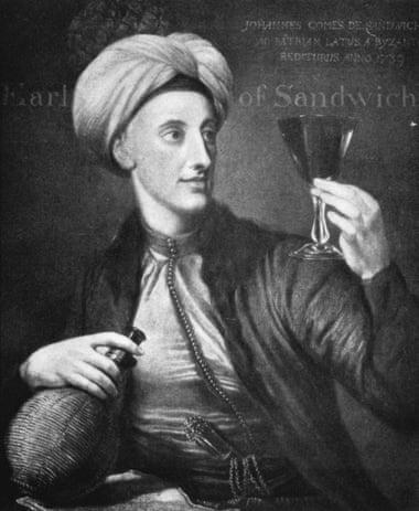 Džon Montagju, 4. vojvoda od Sendviča (slika: Džordž Knepton, 1739. Foto: Alamy/ Guardian)