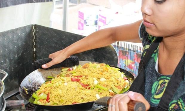 """Sai Ditva: """"Nakon što je nahranio hiljade i hiljade gostiju, moj vok je iskrivljen kao i mamin."""""""