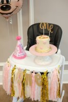 First birthday high chair