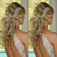 bride hairstyles & makeup