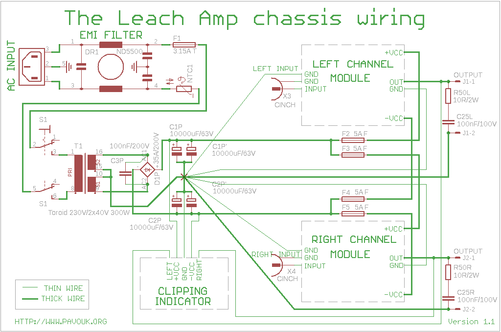 The Leach Amp 200W Amplifier