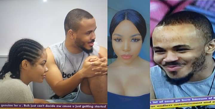 #BBNaija: Moment Nengi was penalized for feeding Ozo with answers during the 'Thursday Night Arena Games' (video)