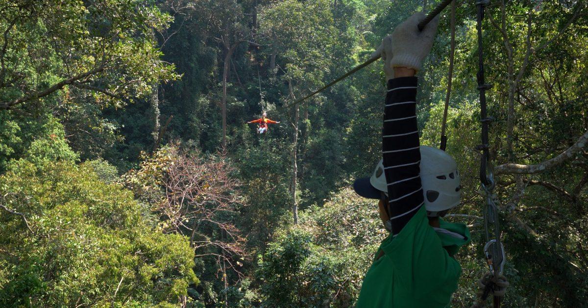 背包客與購物狂的泰國之旅:Jungle Flight (二)
