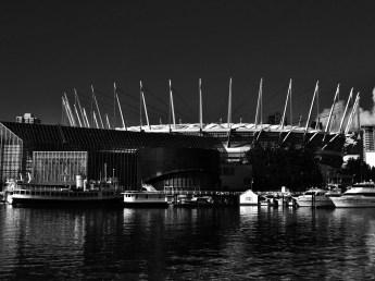 BC Place Stadium, Black & White