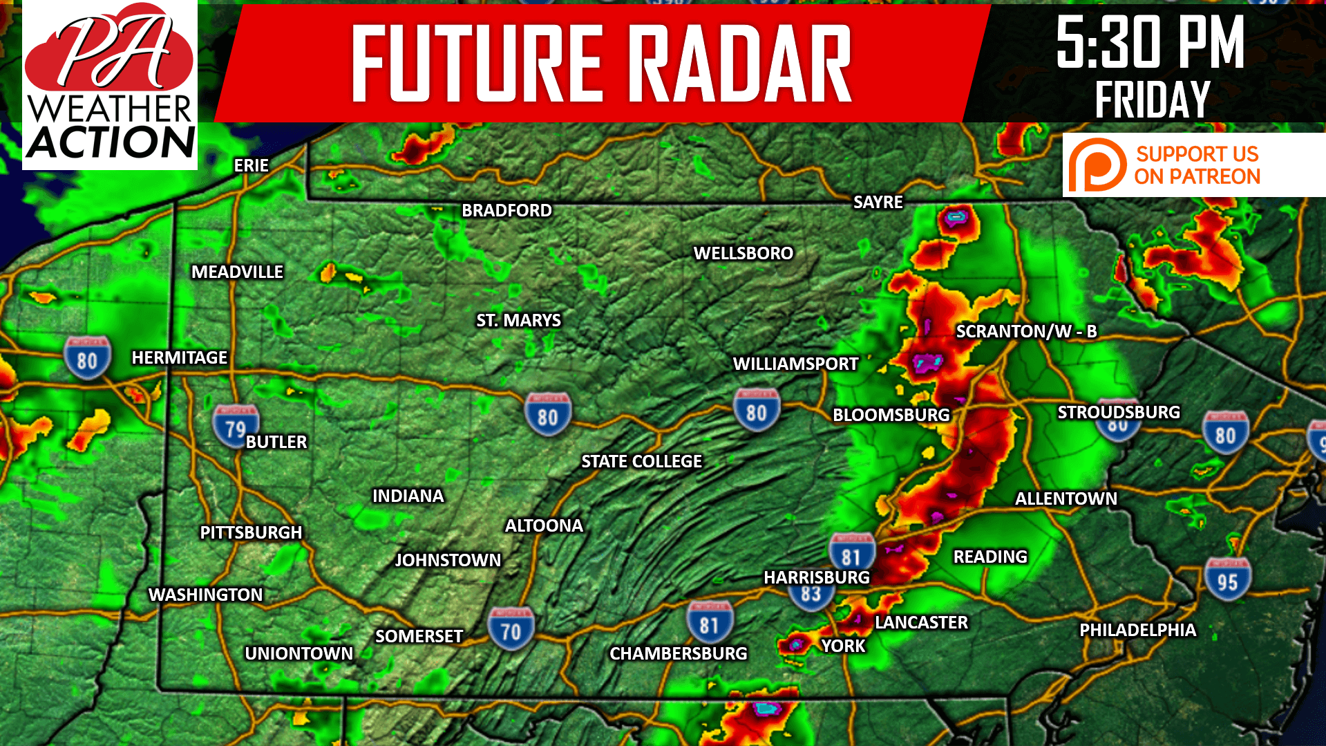 Severe Thunderstorms W Damaging Winds Flash Flooding