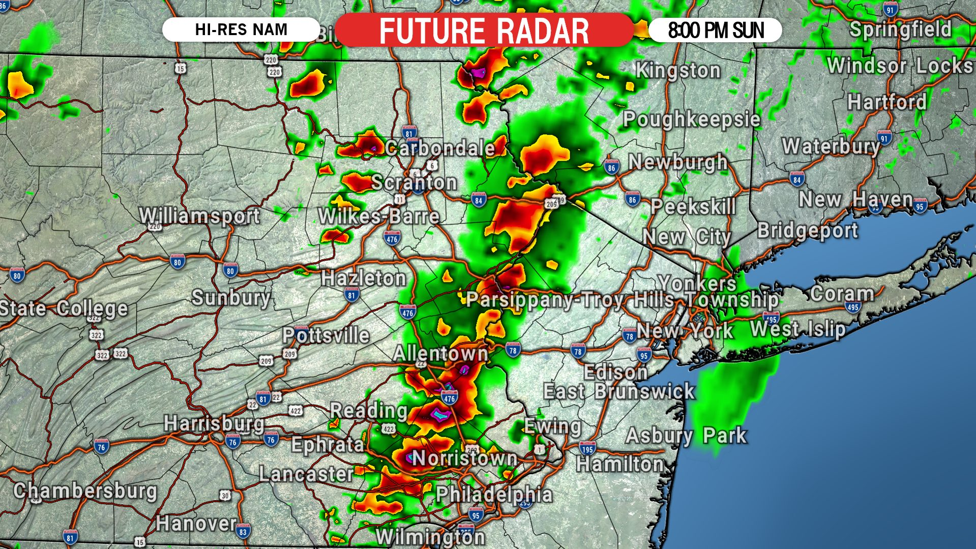 severe thunderstorms with enhanced tornado threat possible