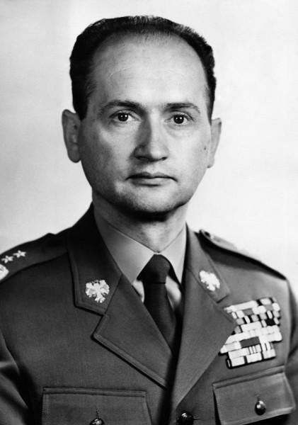 Jaruzelski, nokkru áður en ég var átta ára undir hans stjórn.