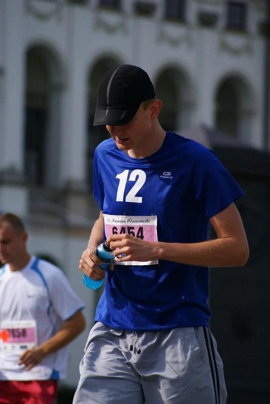 Maraton Warszawski - wodopój