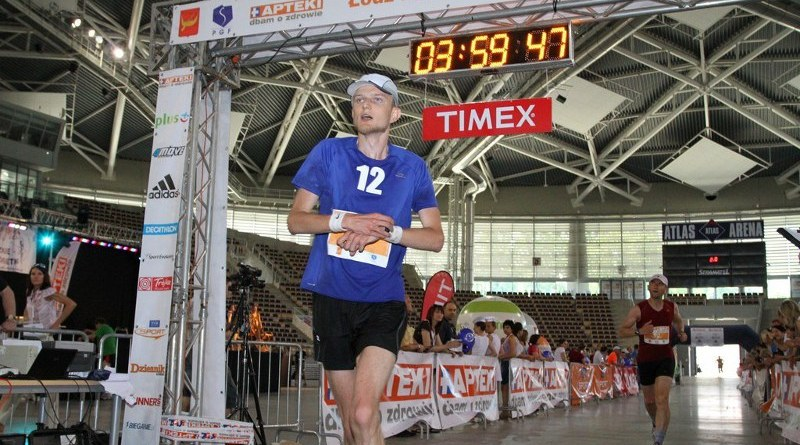 Łódź Maraton 2011 - finisz