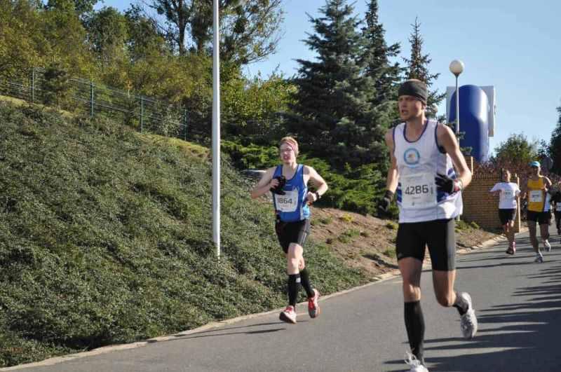 12 Poznań Maraton - finisz