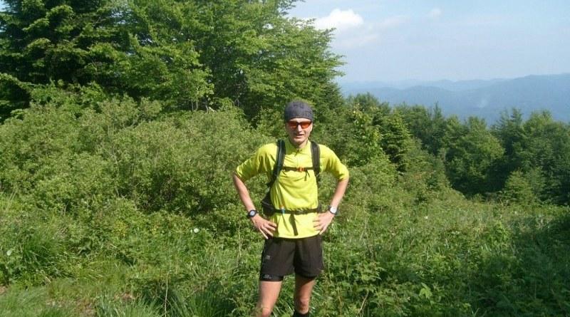 IX Bieg Rzeźnika - w okolicach szczytu Jasło