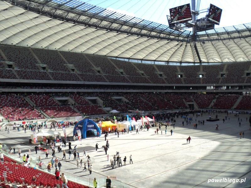34 Maraton Warszawski - stadion