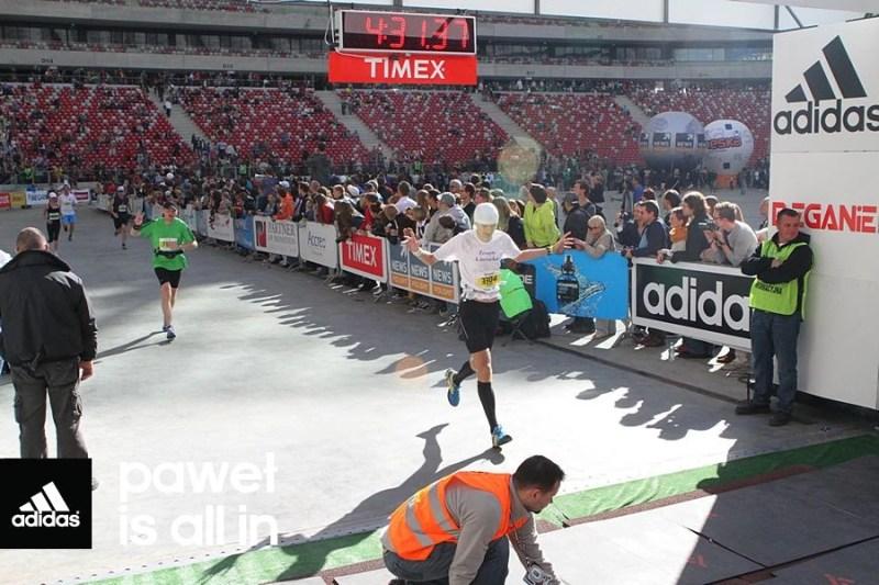 34 Maraton Warszawski - finisz