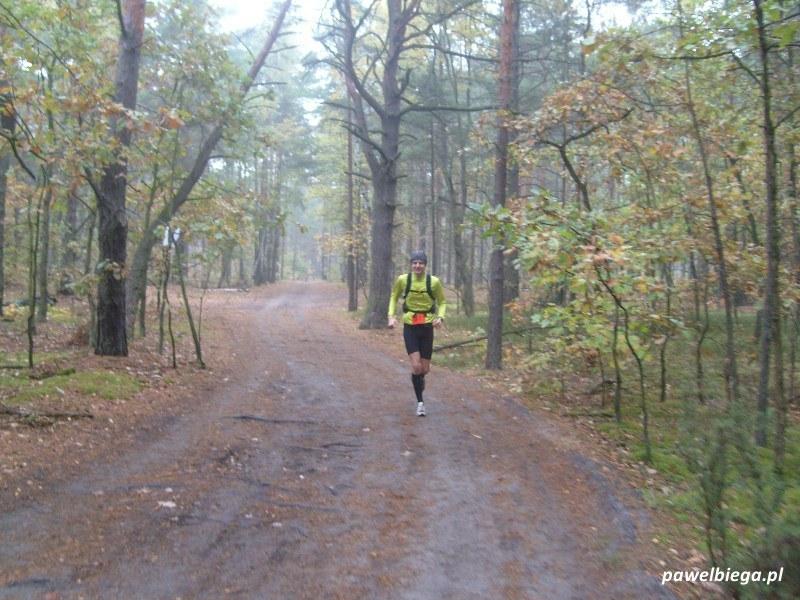 IX Maraton Stara Miłosna - na trasie