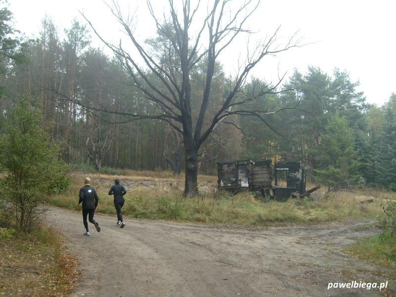IX Maraton Stara Miłosna - spalone ranczo
