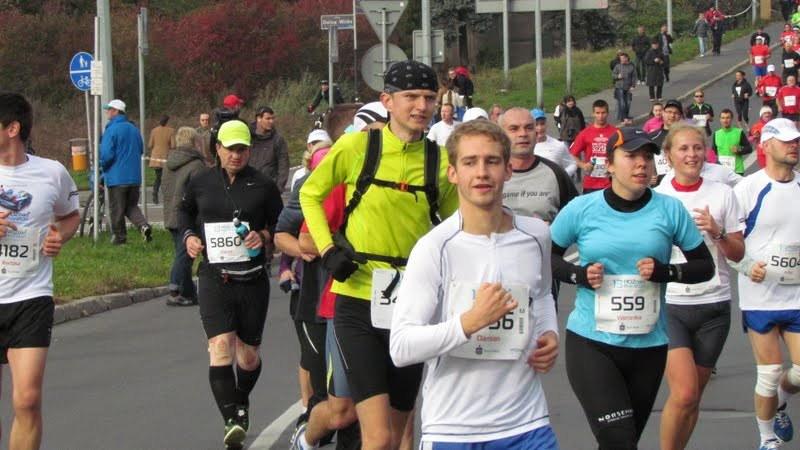13 Poznan Maraton - na trasie z Weroniką