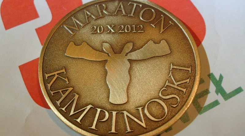 I Maraton Kampinoski - medal