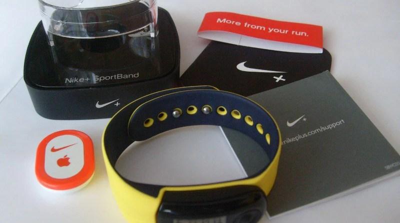 Nike+ SportBand - zawartość zestawu