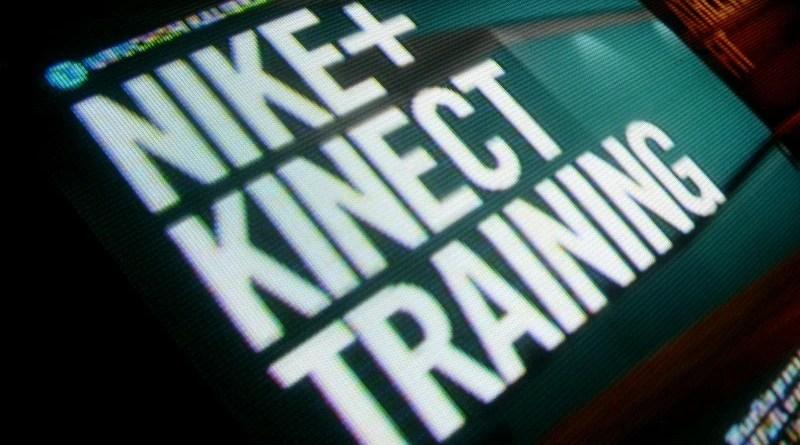 Nike+ Kinect Training - główny ekran