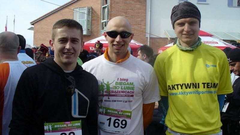 Bieg w Książenicach - przed startem