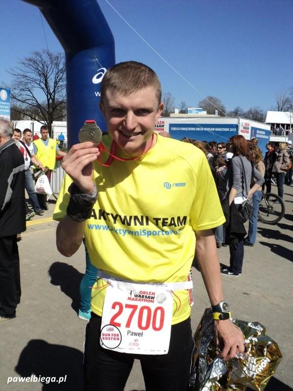 Orlen Warsaw Marathon - na mecie