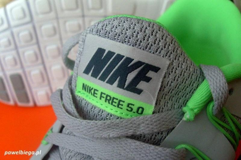 Nike Free 5.0 - język