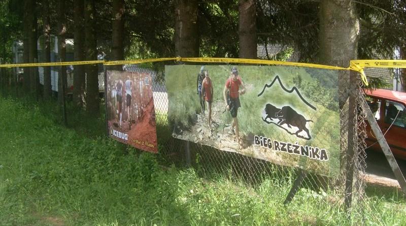X Bieg Rzeźnika - oznaczenie trasy w Cisnej