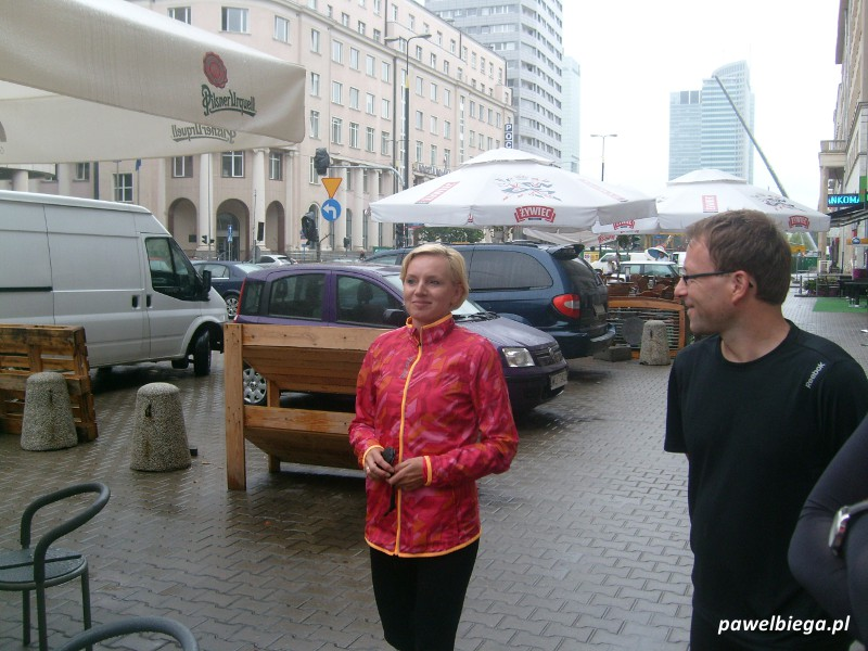 Lidia Chojecka na treningu Reebok