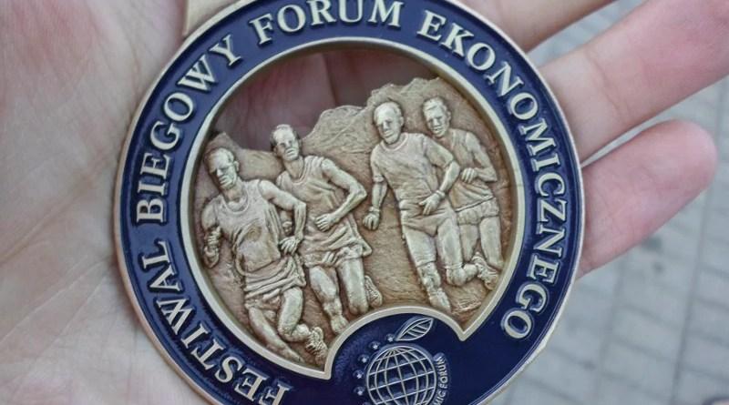 Festiwal Biegowy - medal