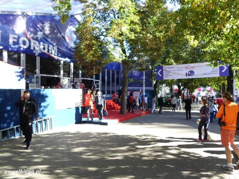 Festiwal Biegowy - Miasteczko biegowe