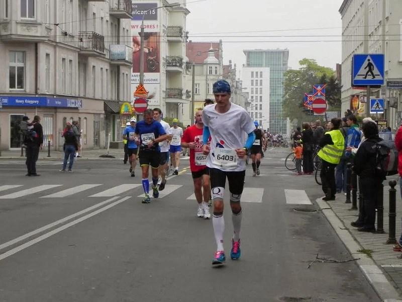 14. Poznan Maraton - ostatnie kilometry