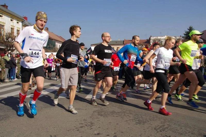 XV Półmaraton Żywiecki - start