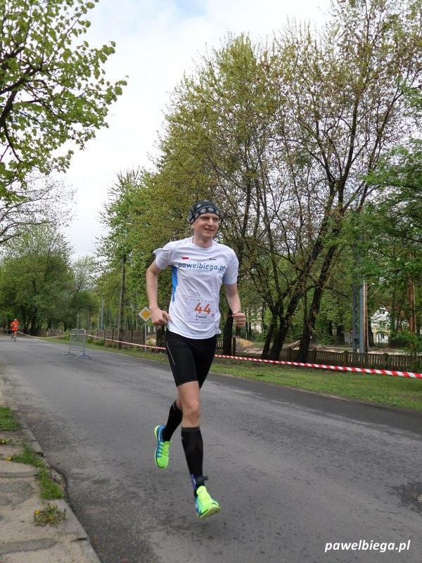 Bieg STO-nogi w Milanówku - 1
