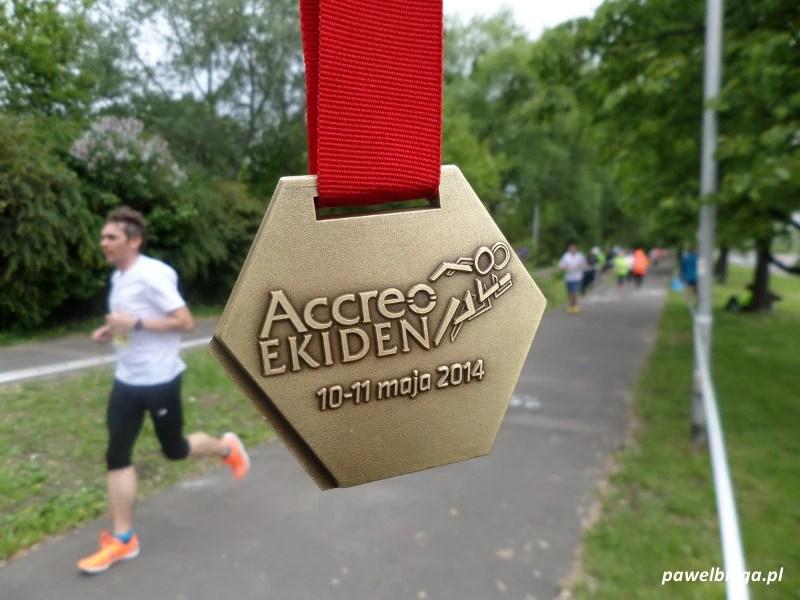 X Accreo Ekiden - medal