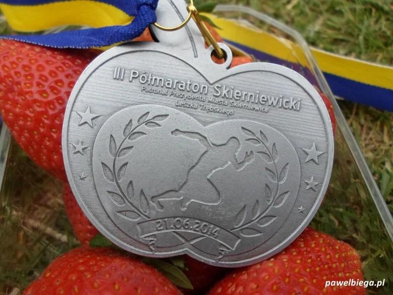 III Półmaraton Skierniewicki - medal