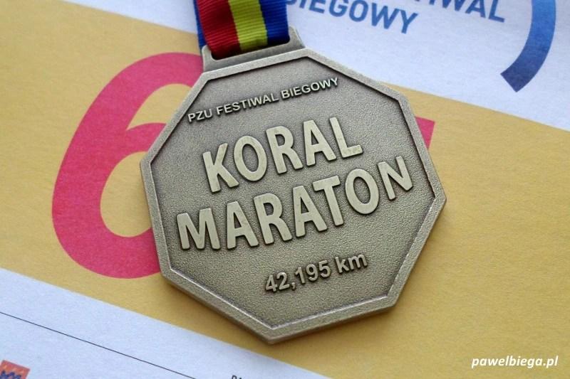 Koral Maraton - medal