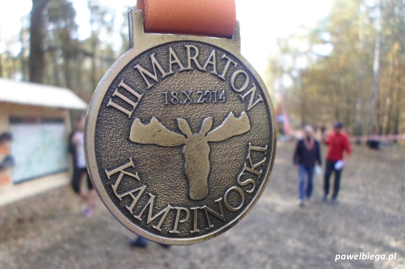 III Maraton Kampinoski - medal