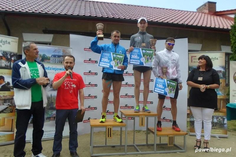 Bieg Chełmonskiego - podium