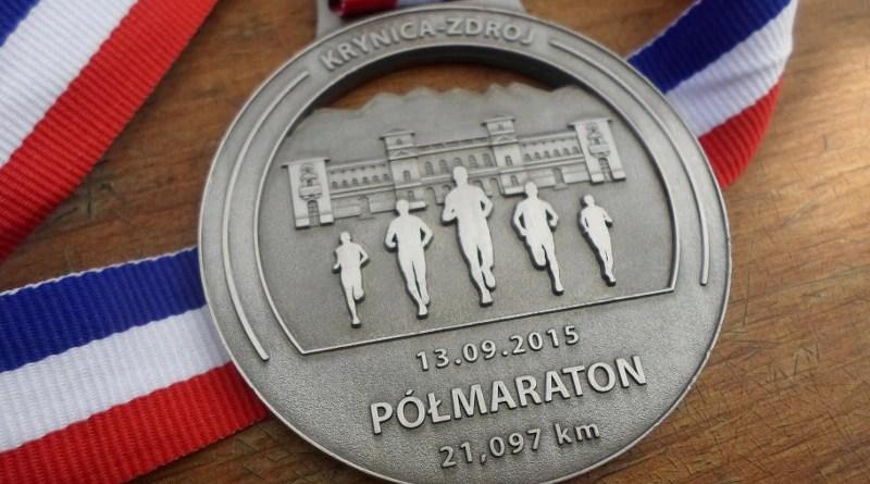 Koral Półmaraton - medal