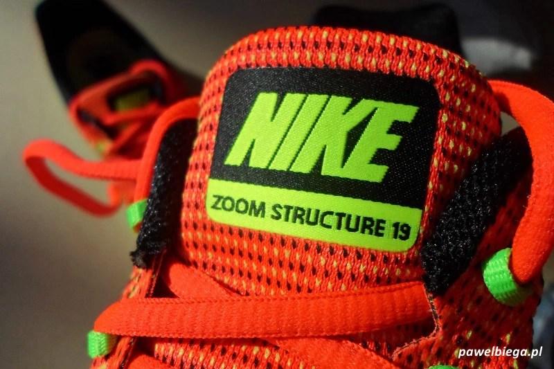 Nike Zoom Structure 19 - detal