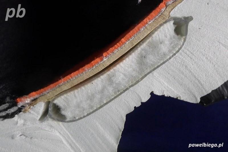 Nike Zoom - przekrój