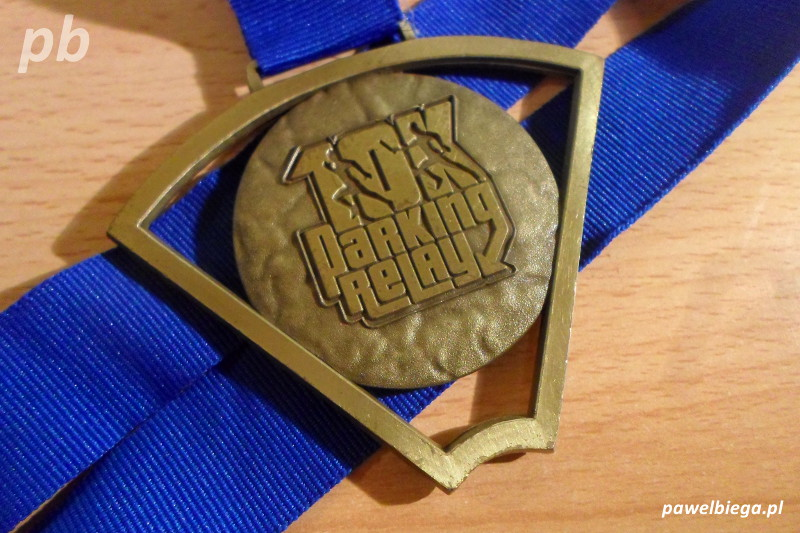 10K Parking Relay - medal