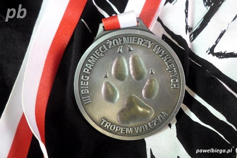 Bieg Tropem Wilczym - medal