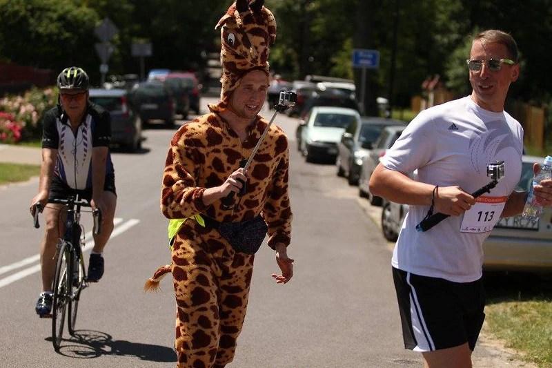 III Bieg Chełmonskiego - żyrafa