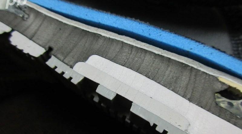 Nike Zoom Odyssey - przekrój pianki