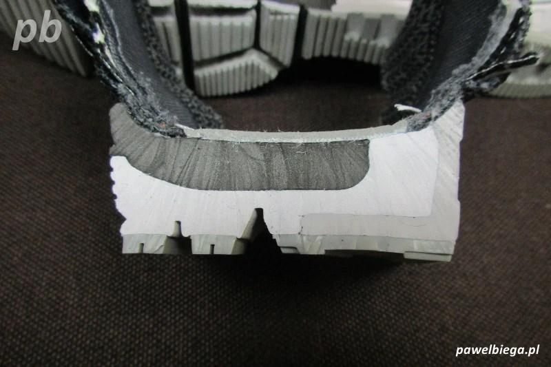 Nike Zoom Odyssey - przekrój środek