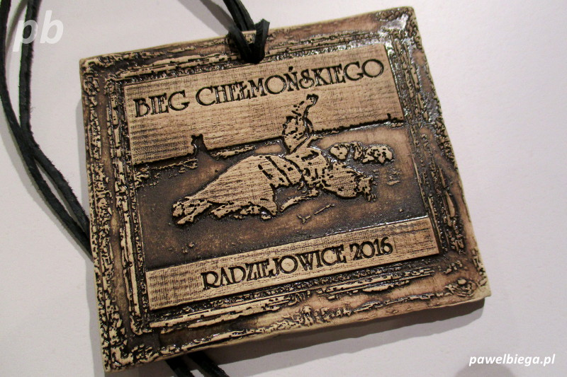 III Bieg Chełmońskiego - medal