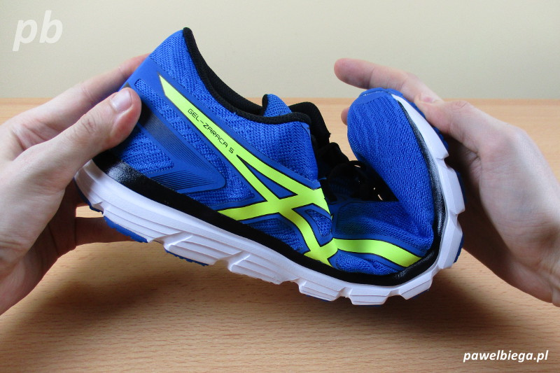 Asics Gel-Zaraca 5 - elastyczność wzdłużna