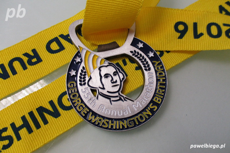 Georges Washington Birthday Marathon